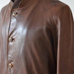 SULKA leather jacket - Au Drôle de Zèbre