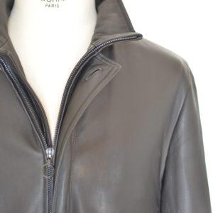 SERAPHIN leather coat - Au Drôle de Zèbre