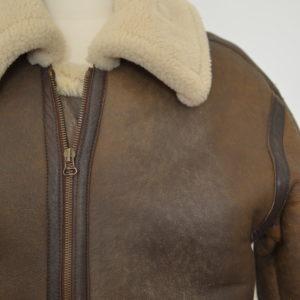 CHAPAL bombardier shearling jacket - Au Drôle de Zèbre