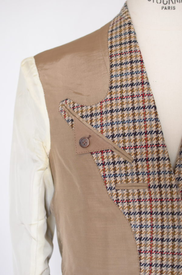 CLAUDE ROUSSEAU bespoke jacket- Au Drôle de Zèbre